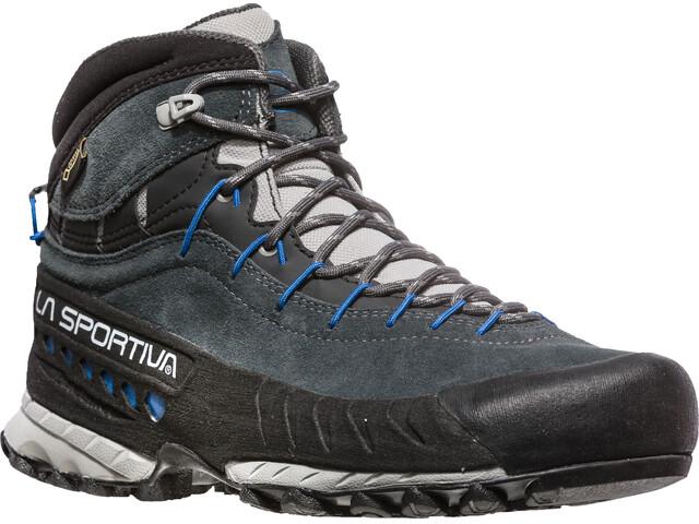 La Sportiva W's TX4 Mid GTX Shoes Carbon/Cobalt Blue